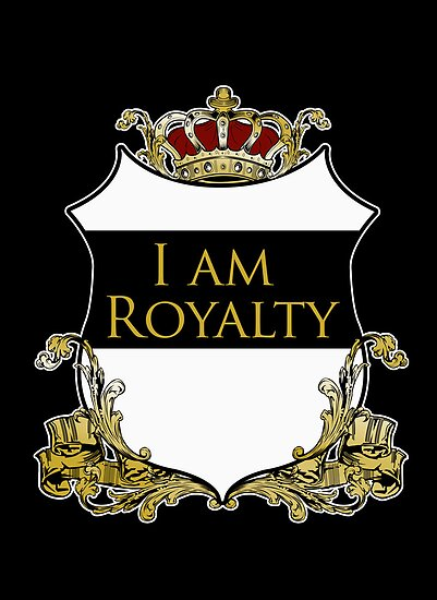 I am Royalty 2 - Black by Adamzworld