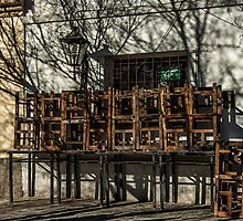 Stacked Chairs by photograham