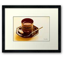 Photographer's Cuppa Framed Print