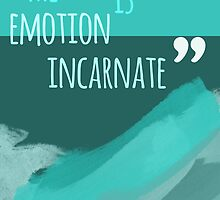 The sea is emotion incarnate by iheartgallifrey