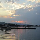 Aigio at sunset by Eleanor11