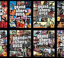 Grand Theft Auto (GTA) by Jake Atlass