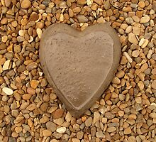Pebble Heart by Fay Freshwater