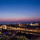 Florence by night by Mattia  Bicchi Photography