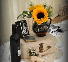sunflower wedding by Fiona Gardner