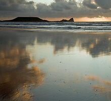Rhossili Bay and Worms Head by Nick Jenkins