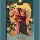 Joyeux Noel Greeting Card by Yesteryears