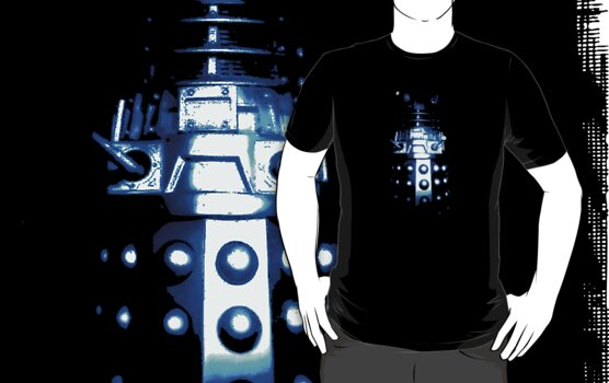 Dalek Alpha – Blue by Steven Miscandlon