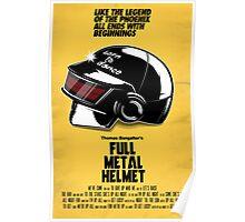 Full Metal Helmet Poster