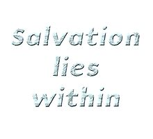 Salvation lies within by boogeyman