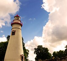 Marblehead Lighthouse by MSRowe Art and Design