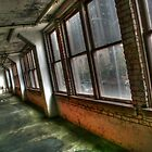 Old Garage Windows by Michael  Herrfurth