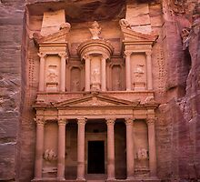 Petra's Great Treasury by Tam Church