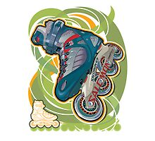 Inline skate by Michael Jones