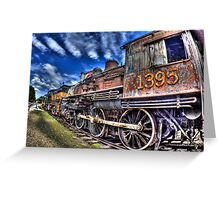 Coopersville & Marne Railway: Coopersville, Michigan Greeting Card