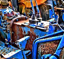 HDR abstract tractor by GWGantt