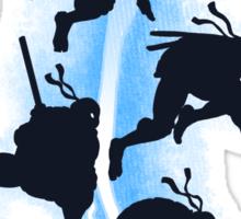 The dark ninja return Sticker