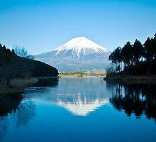 Mount Fuji Reflection by kellykilgore