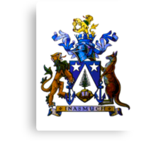 Norfolk Island Coat Of Arms Canvas Print