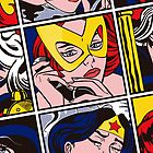 Girl Power: Jean Grey - iPhone case by Cowabunga
