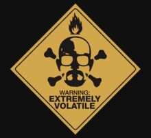 Warning Extremely Volatile by Phaedrart