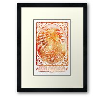 American Indian Chief Portrait  Framed Print