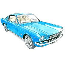 65 Mustang Fastback by Anthony Billings