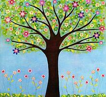 Flowery Tree by kellysorcha