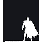 My Superhero 02 Bat Black Minimal Pantone poster by Chungkong