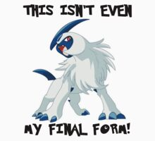 Not Even Absol's Final Form by Phox