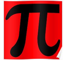 Pi Flavour Red Poster