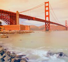 The Golden gate by Mark Walker