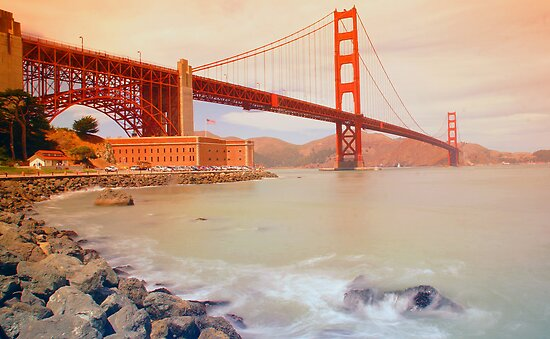 The Golden gate by Mark Walker