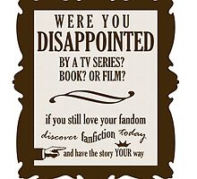 Discover Fanfiction Today by geekyness