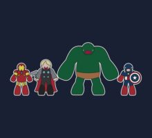 Little Big Avengers by Sam Weeks
