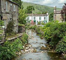River through the town by Judi Lion