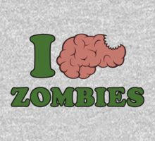 I Brain Zombies by RiusJad