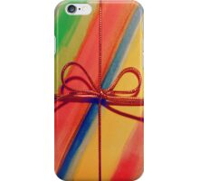 Multicolour wrapped gift iphone case iPhone Case/Skin