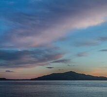Dawn at Angel Island  by Richard Thelen