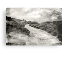 Even if you're on the right track, you'll get run over if you just sit there.... Metal Print