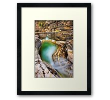 Natural pool in Zagori Framed Print