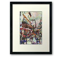 Cafe Van Gogh Framed Print