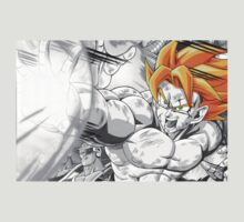 Goku - Charged Up by StraightEK