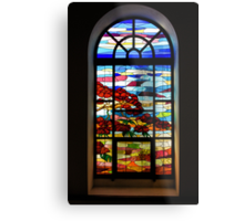 A Tale of Windows and Magical Landscapes - 2 Metal Print