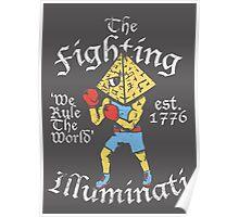 The Fighting Illuminati Poster