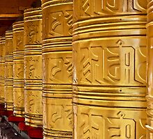 Prayer Wheel by jasonksleung