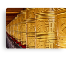Prayer Wheel Canvas Print