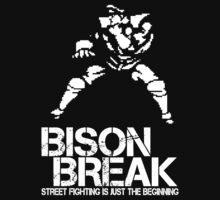 BISON BREAK - white edition by Roland1984