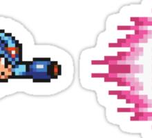 Dash Shot - Mega Man X Sticker