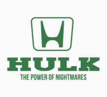 Avengers Automotive: Hulk and Honda Parody Logo by Christian Petersen